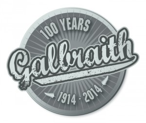 Galbraith 100 Year logo